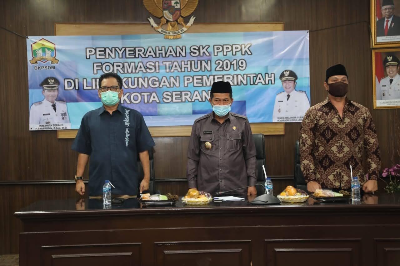 Penyerahan SK PPPK Formasi 2019